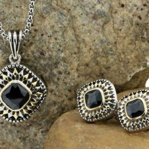 Other - Spinel  Necklace & Earring Set